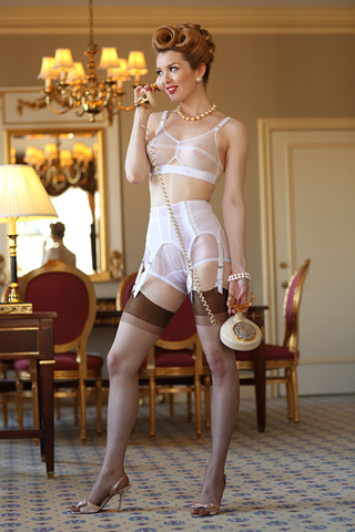 Sophisticated Garter Belt