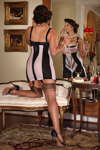"19"" Zippered Girdle"