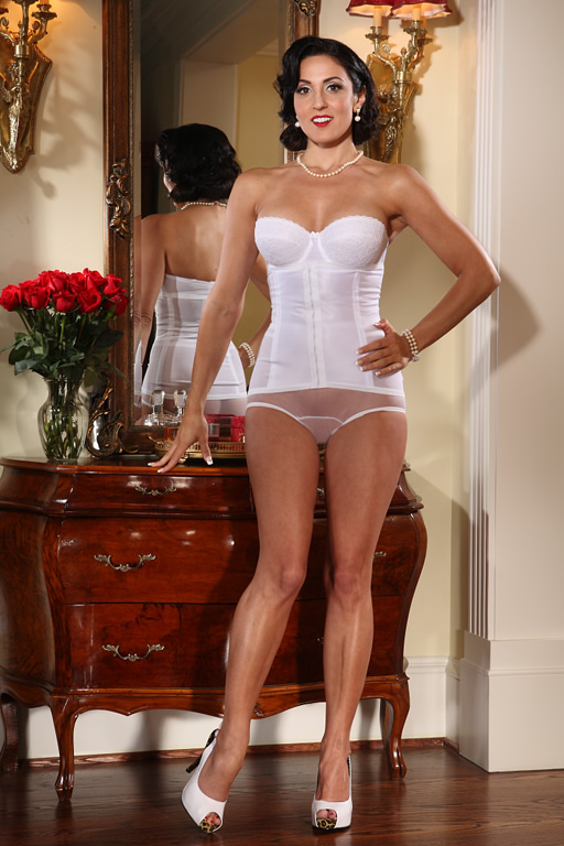 New 1950s Vintage Lingerie & Sleepwear, Pinup Styles Waist Cincher  AT vintagedancer.com