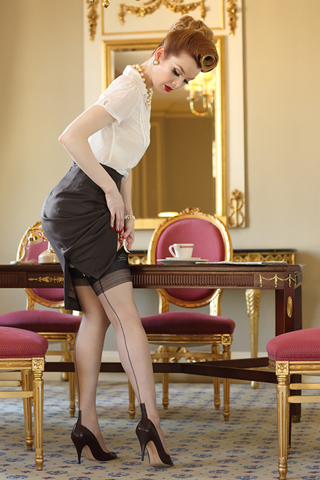 Glamour Fully Fashioned Stockings
