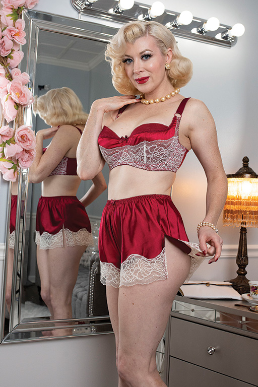 Vintage Lingerie | New Underwear, Bras, Slips Lana Tap PantGlamour Mail $59.00 AT vintagedancer.com