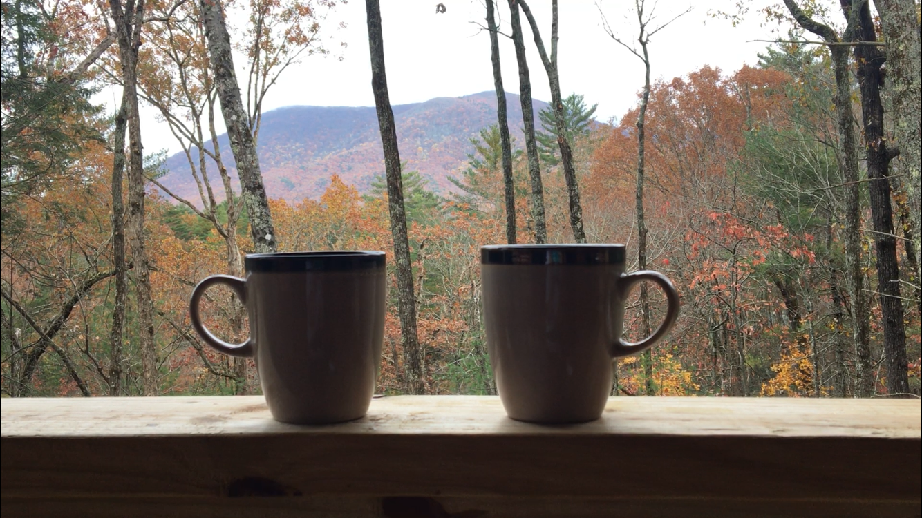 Enjoy your morning coffee on the front porch