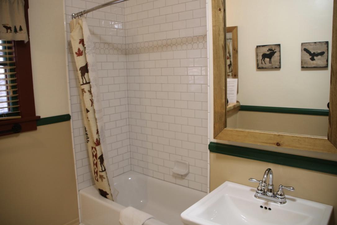Tub/Shower in Hall bath