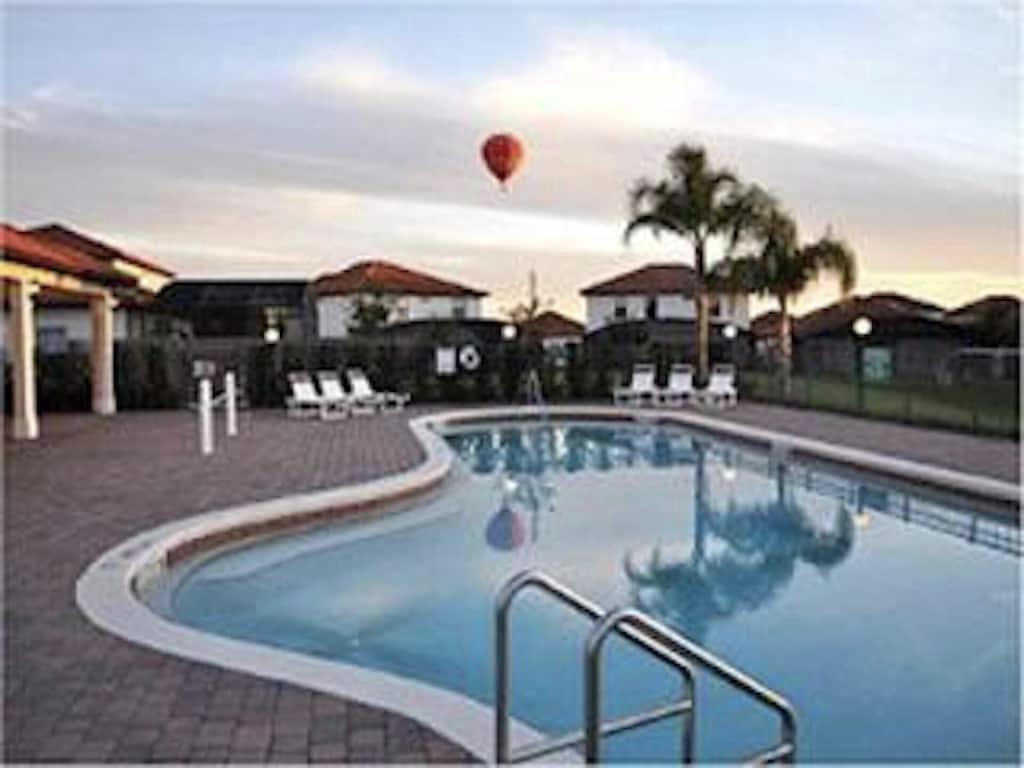 Huge pool in the resort