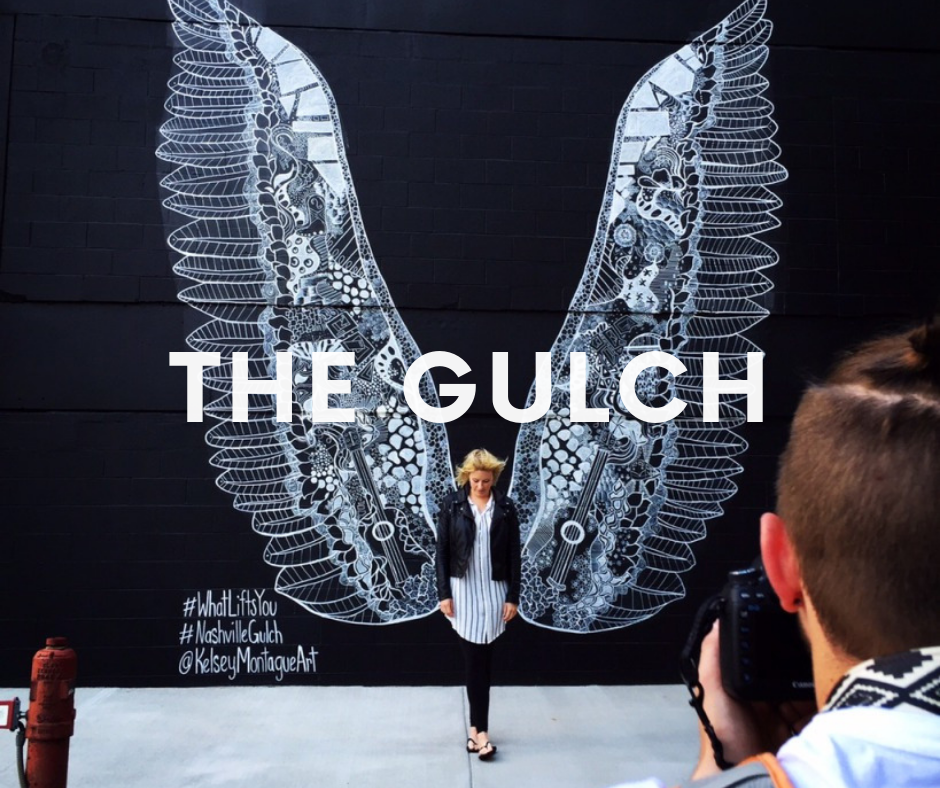 Close proximity to The Gulch where you can find the famous Nashville wings.  Grab your camera!