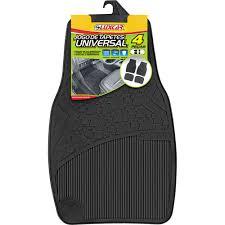TAPETE DE PVC - UNIVERSAL - JOGO COM 4 PECAS - LUXCAR LUXCAR 4002 PC 70401