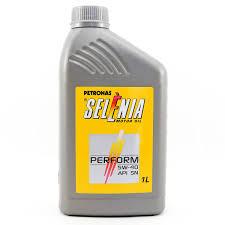 OLEO PARA MOTOR GASOLINA, ALCOOL E GNV - 5 W 40 - SINTETICO PETRONAS PETRONAS 5w40 petronas PC 58015