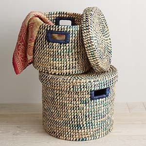 Baskets. Storage & Fair Trade Baskets African and Asian Baskets Storage Baskets ...