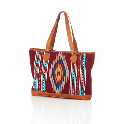 Rayas Tapestry Crimson Tote