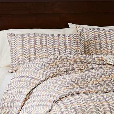 Egyptian Cotton Brocade Pillow Shams - Multi