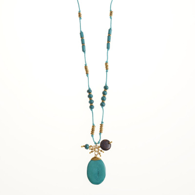 Tranquil Turquoise Necklace