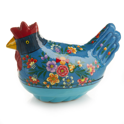 Big Blue Chicken Box