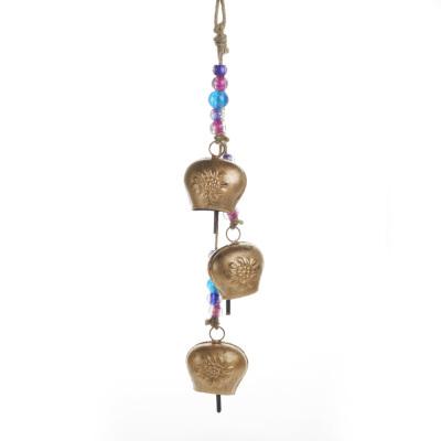 Triple Floral Bell Hanger