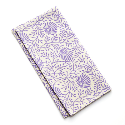 Amethyst Wildflower Napkins