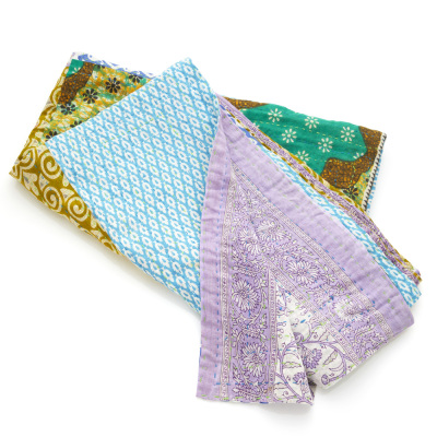Kantha Patchwork Long Throw