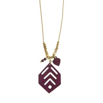 Bold Burgundy Necklace
