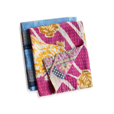 Kantha Dish Towels Set of 2