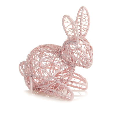 Pink Wire Bunny