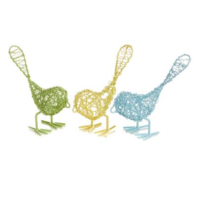 Pastel Wire Birds