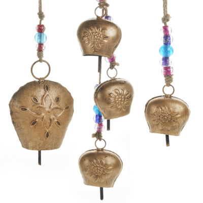 Floral Bell Hangers Set