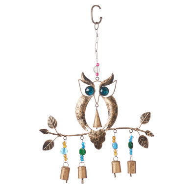 Recycled Owl Chime