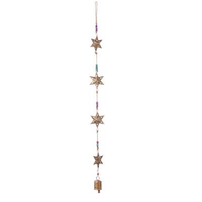 Recycled Stars Bell Hanger