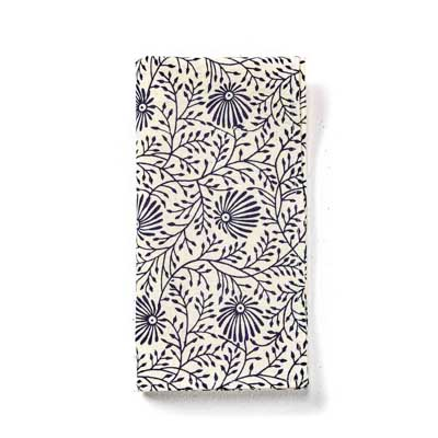 Wildflower Navy Napkins Set