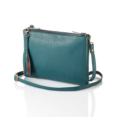 Teal Crossbody Bag