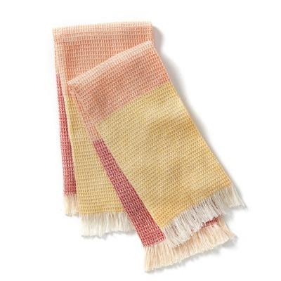Sunset Chanda Stripe Dish Towel Set