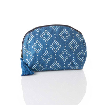 Diamond Dabu Zip Pouch