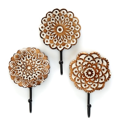 Mandala Wall Hook Set