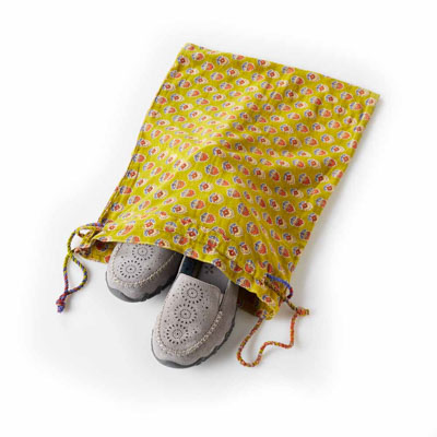 Sari Shoe Bags - Set of 3