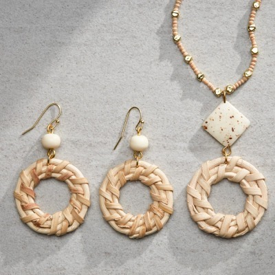 Amara Necklace & Earrings Set