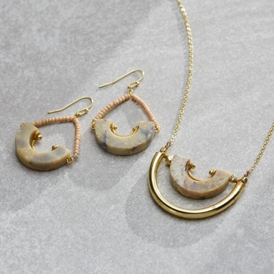 Rimo Necklace & Earrings Set