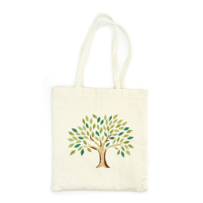 Tree of Life Embroidered Tote Bag