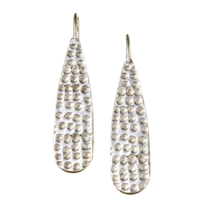 Sarala Silver Earrings