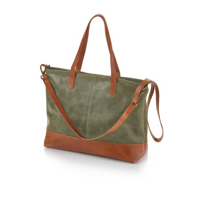 Shilani Leather Tote