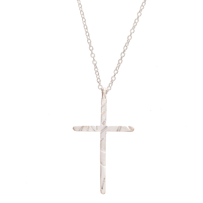 Chandi Cross Necklace
