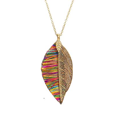 Sunara Leaf Pendant Necklace