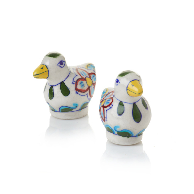 Chidiya Ceramic Salt & Pepper Shakers