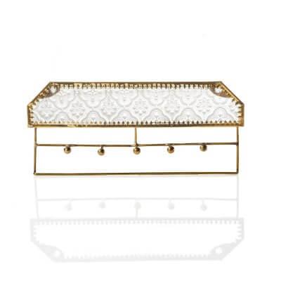Jadani Glass Jewelry Rack