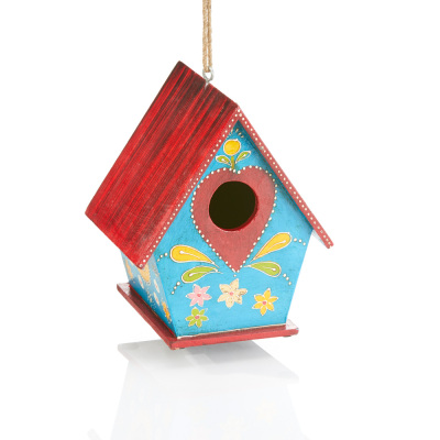 Suhani Painted Birdhouse