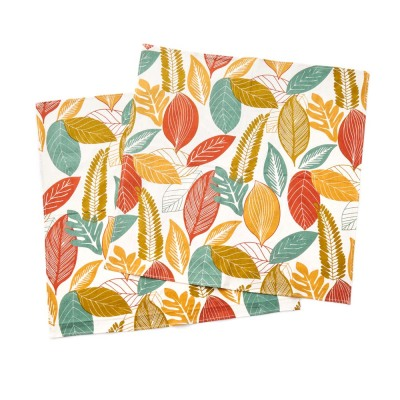 Bright Autumn Napkins - Set of 2