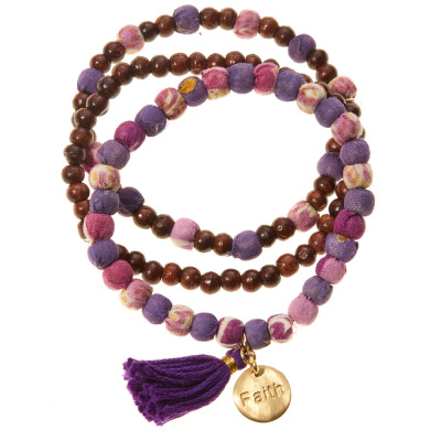 Faith Virtues Bracelets - Set of 3