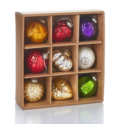 Crafted Glass Ornament Collection