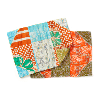 Kantha Placemats - Set of 2