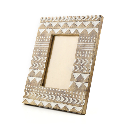 Zig-Zag Photo Frame