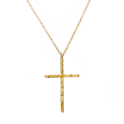 Sona Gold Cross Necklace