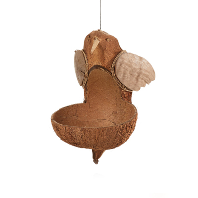 Coconut Hummingbird Bird Feeder