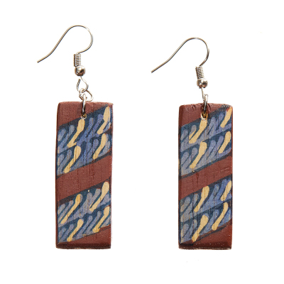 Tegani Batik Earrings